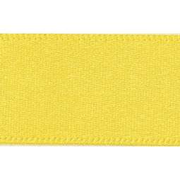 View the YELLOW 15mm x 20m double face satin cake ribbon online at Cake Stuff