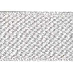 View the SILVER GREY 15mm x 20m double face satin cake ribbon online at Cake Stuff