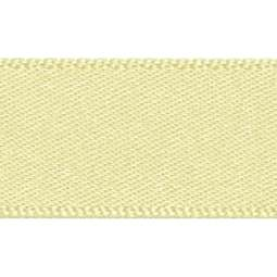 View the PALE LEMON 15mm x 20m double face satin cake ribbon online at Cake Stuff
