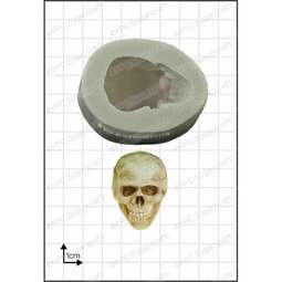View the 3D SKULL silicone icing mould online at Cake Stuff