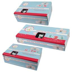 View the ALL 3 Push Easy alphabet & number icing plunger cutter sets Bundle online at Cake Stuff