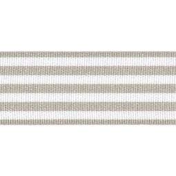 View the GREY STRIPES 16mm x 25m satin cake ribbon online at Cake Stuff