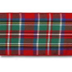 View the Royal Stewart 70mm Scottish tartan plaid ribbon x 25m reel online at Cake Stuff