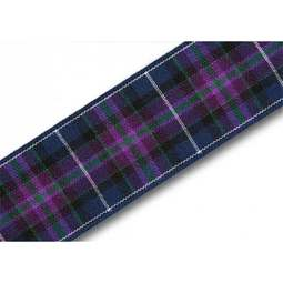 View the Pride of Scotland MODERN 25mm Scottish tartan plaid ribbon x 25m reel online at Cake Stuff