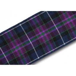 View the Pride of Scotland MODERN 38mm Scottish tartan plaid ribbon x 25m reel online at Cake Stuff