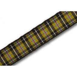 View the Cornish National 16mm tartan plaid ribbon x 25m reel online at Cake Stuff