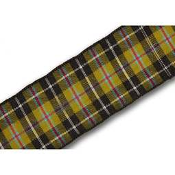 View the Cornish National 25mm tartan plaid ribbon x 25m reel online at Cake Stuff