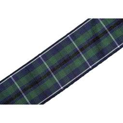 View the Modern Douglas 25mm Scottish tartan plaid ribbon x 25m reel online at Cake Stuff