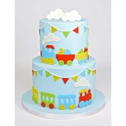 View the TRAIN 4 piece icing & gumpaste cutter set online at Cake Stuff