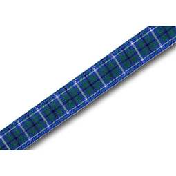 View the Ancient Douglas 10mm Scottish tartan plaid ribbon x 25m reel online at Cake Stuff