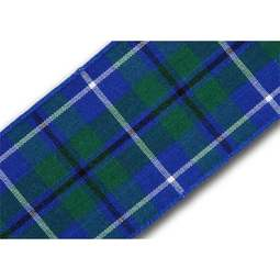 View the Ancient Douglas 40mm Scottish tartan plaid ribbon x 25m reel online at Cake Stuff
