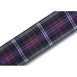 View the Pride of Bannockburn 25mm Scottish tartan plaid ribbon x 25m reel online at Cake Stuff