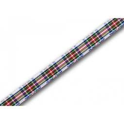 View the Dress Stewart 7mm Scottish tartan plaid ribbon x 25m reel online at Cake Stuff