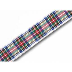View the Dress Stewart 16mm Scottish tartan plaid ribbon x 25m reel online at Cake Stuff