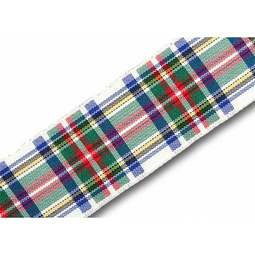 View the Dress Stewart 25mm Scottish tartan plaid ribbon x 25m reel online at Cake Stuff