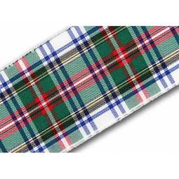View the Dress Stewart 40mm Scottish tartan plaid ribbon x 25m reel online at Cake Stuff