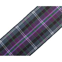 View the Pride of Bannockburn 38mm Scottish tartan plaid ribbon x 25m reel online at Cake Stuff