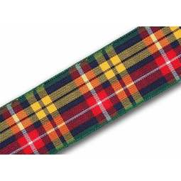 View the Buchanan 25mm Scottish tartan plaid ribbon x 25m reel online at Cake Stuff