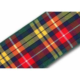 View the Buchanan 40mm Scottish tartan plaid ribbon x 25m reel online at Cake Stuff