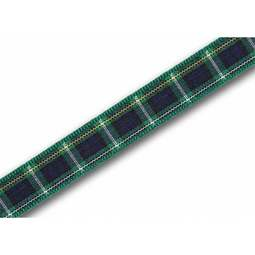 View the Campbell 10mm Scottish tartan plaid ribbon x 25m reel online at Cake Stuff
