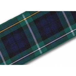 View the Campbell 40mm Scottish tartan plaid ribbon x 25m reel online at Cake Stuff