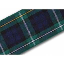 View the Campbell 40mm Scottish tartan plaid ribbon x 25m reel online at Cake Stuff