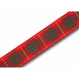 View the Cameron 16mm Scottish tartan plaid ribbon x 25m reel online at Cake Stuff