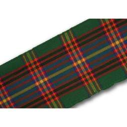 View the Cameron of Lochiel 38mm Scottish tartan plaid ribbon x 50m reel online at Cake Stuff