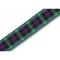 View the MacKenzie 16mm Scottish tartan plaid ribbon x 25m reel online at Cake Stuff