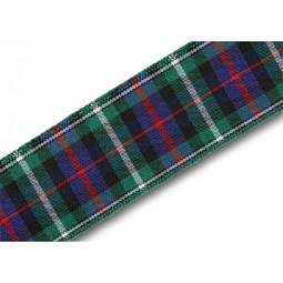 View the MacKenzie 25mm Scottish tartan plaid ribbon x 25m reel online at Cake Stuff