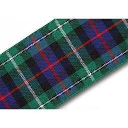 View the MacKenzie 40mm Scottish tartan plaid ribbon x 25m reel online at Cake Stuff