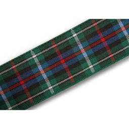 View the Rose 25mm Scottish tartan plaid ribbon x 25m reel online at Cake Stuff