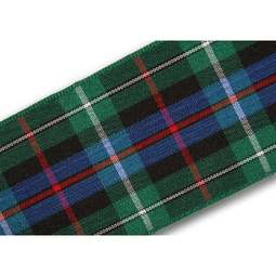 View the Rose 40mm Scottish tartan plaid ribbon x 25m reel online at Cake Stuff