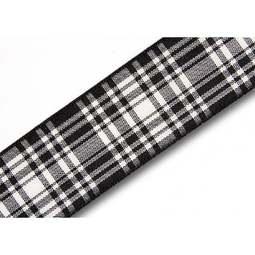 View the Menzies 25mm Scottish tartan plaid ribbon x 25m reel online at Cake Stuff