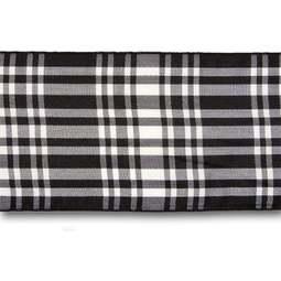 View the Menzies 70mm Scottish tartan plaid ribbon x 25m reel online at Cake Stuff