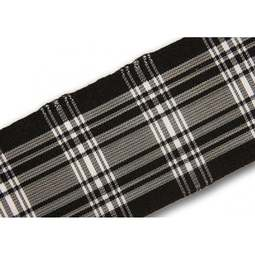 View the Menzies 38mm Scottish tartan plaid ribbon x 50m reel online at Cake Stuff
