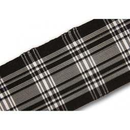 View the Menzies 38mm Scottish tartan plaid ribbon x 50m reel online at Cake Stuff