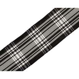 View the Menzies 24mm Scottish tartan plaid ribbon x 50m reel online at Cake Stuff