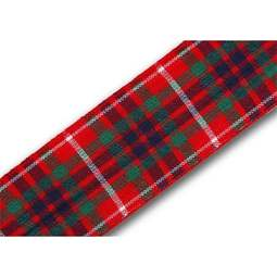 View the Fraser 25mm Scottish tartan plaid ribbon x 25m reel online at Cake Stuff