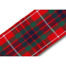 View the Fraser 40mm Scottish tartan plaid ribbon x 25m reel online at Cake Stuff