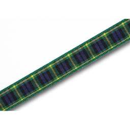 View the Gordon 10mm Scottish tartan plaid ribbon x 25m reel online at Cake Stuff
