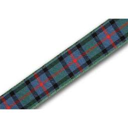 View the Flower of Scotland 16mm Scottish tartan plaid ribbon x 25m reel online at Cake Stuff