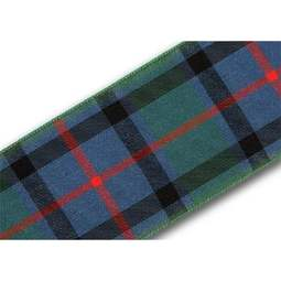 View the Flower of Scotland 40mm Scottish tartan plaid ribbon x 25m reel online at Cake Stuff