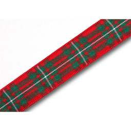 View the MacGregor 16mm Scottish tartan plaid ribbon x 25m reel online at Cake Stuff