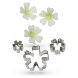 View the metal PRIMROSE 3 pc icing flower cutter set online at Cake Stuff