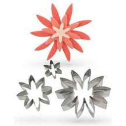 View the DAISY 3 pc stainless steel flower cutter set online at Cake Stuff