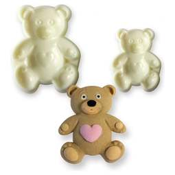 View the TEDDY Pop It 2 pc icing mould cutter set online at Cake Stuff