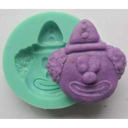 View the CLOWN FACE silicone icing mould online at Cake Stuff