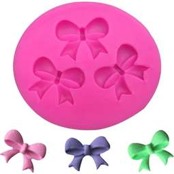 View the 3 BOWS silicone fondant & gumpaste mould online at Cake Stuff