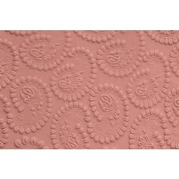 View the SMALL PAISLEY pattern embossed mini rolling pin 16.5cm online at Cake Stuff